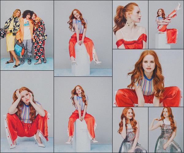 . Madelaine Petsch  pose pour le « Glamour Magazine »  • issue de mars 2018 ! .