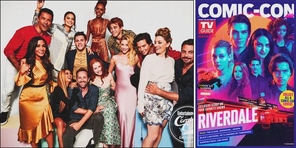 . Découvrez le portrait pour « Entertainment Weekly » durant le • Comic-Con. .