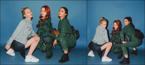 . —---Découvrez 2 clichés de Lili, Madelaine et Camila lors d'une Wrap Party ! .