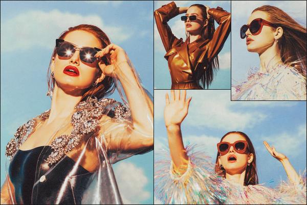 . -—--Découvrez le photoshoot de Madelaine pour la marque « Privé Revaux » .