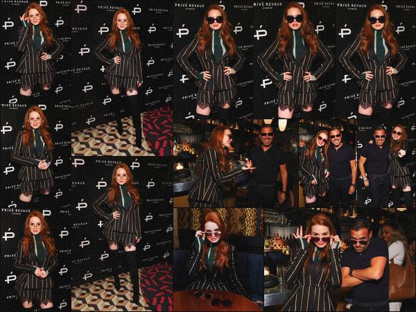 . 09.05.19 - Madelaine Petsch s'est rendue au launch de sa seconde collaboration avec « Privé Revaux  » dans'' ▬ ''NY ! Notre belle rousse enchaîne les évents, et c'est au launch de Privé Revaux dans New York qu'elle s'est rendue. J'adore sa tenue, gros top. .