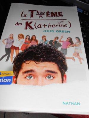 Le théorème de Katherine (Hors challenge ABC... c'est John Green quand même... il faut des priorités dans la vie!!!)