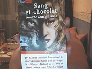 SANG ET CHOCOLAT(^^)