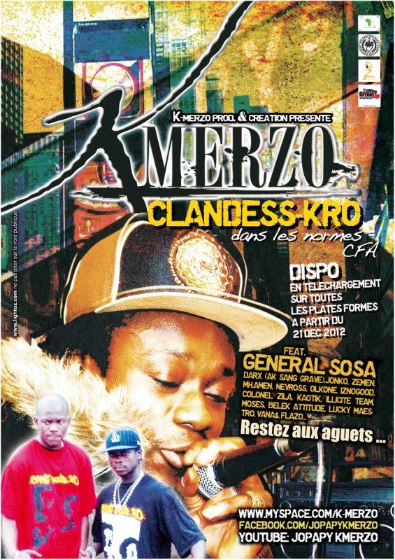 NOUVEL ALBUM : ClanDess-Kro ** Dans Les Normes C.F.A ** Disponible le 21-12-2012