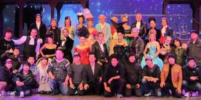 Photo de la troupe de Mozart l'opéra rock