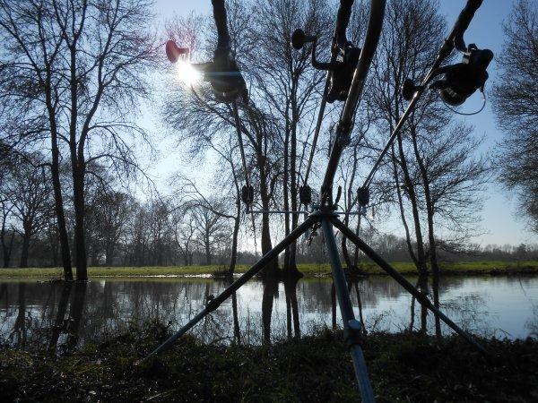 Première session de l'année en rivière