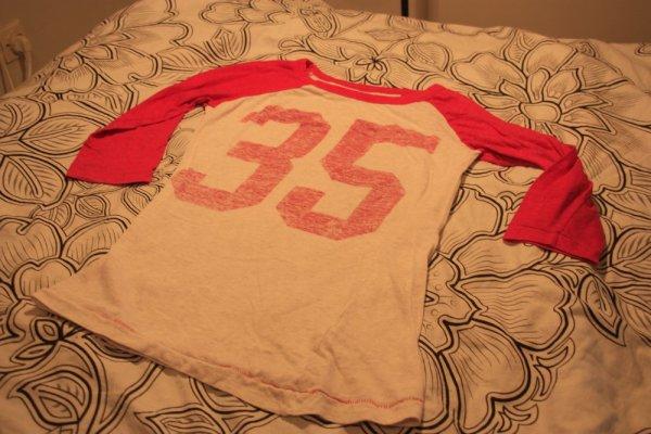 T-shirt baseball New Look.