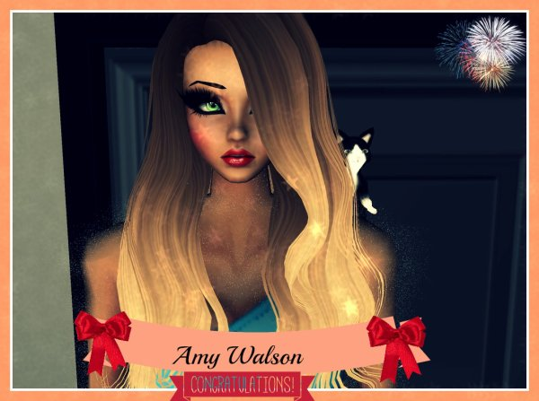 Amy Walson a remporté un Amy Award !