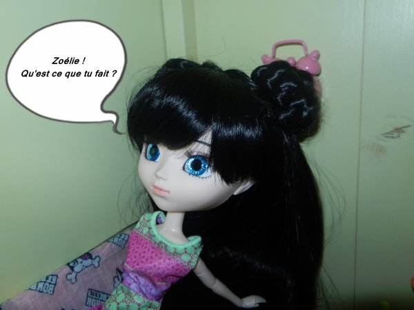 pitite story ! Zoélie fait du chocolat !