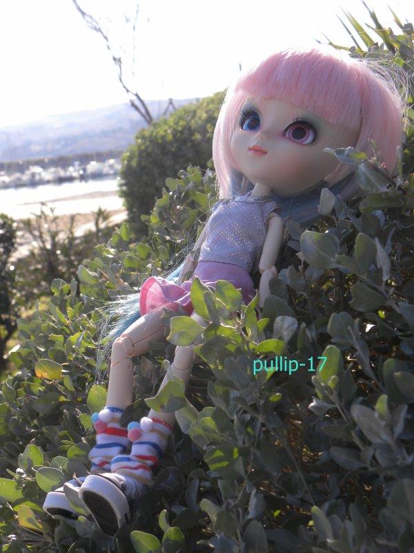 Zoélie lors d'une petite sortie !!!