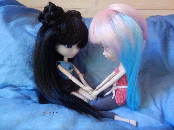 séance photo de kim et zoélie