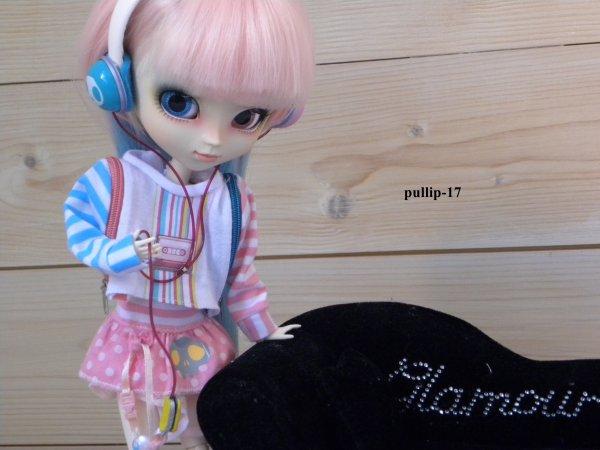 Séance photo de Zoélie dans son outfit.