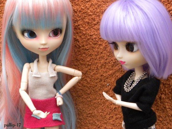 Story: Molly ment-elle à Kim et Zoélie? Que cache-t-elle? + séance photo.