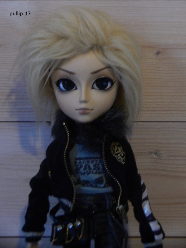 J'ai reçue la wig d'Aaron!!