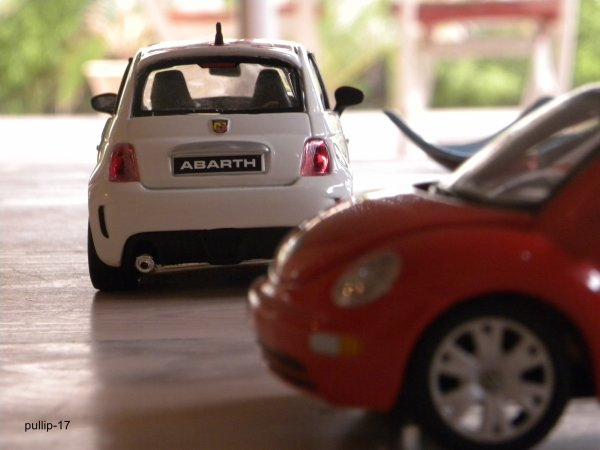 Abarth 500 et Volkswagen New Beetle (suite)