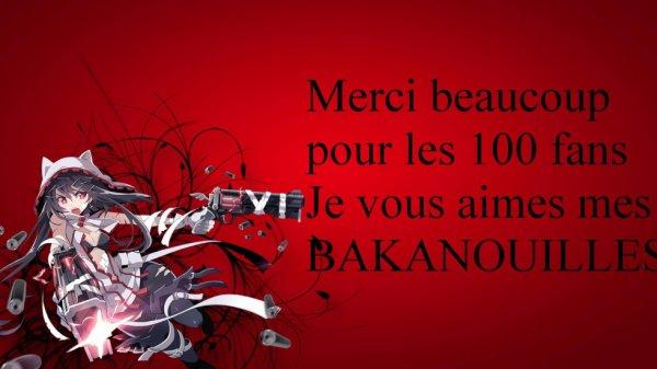 -100 fans-