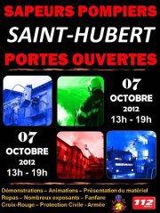 PORTES OUVERTS POMPIERS DE SAINT-HUBERT
