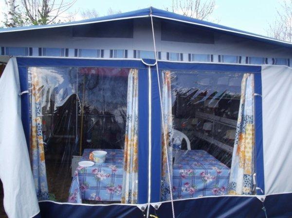 canaris au camping