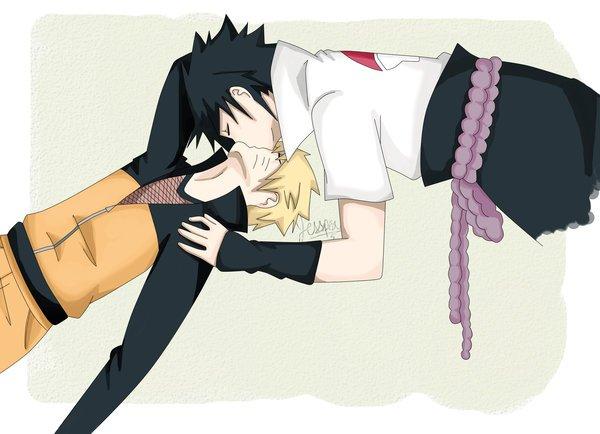 Séance kiss ( sasunaru )