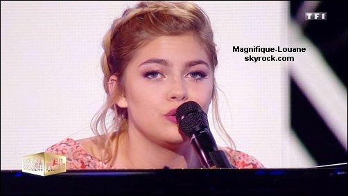 """Louane dans """" La chanson de l ' année  fête la musique """""""