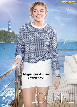 """Photo de Louane et son amoureux + Photo de Louane dans le magazine """" Dream ' up """""""