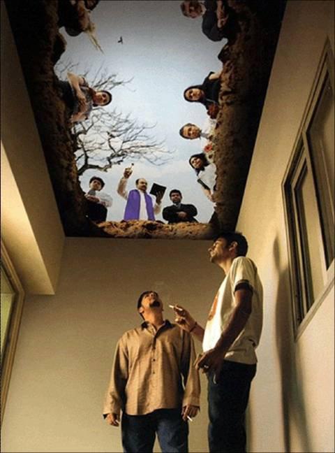 Le plafond du fumeur