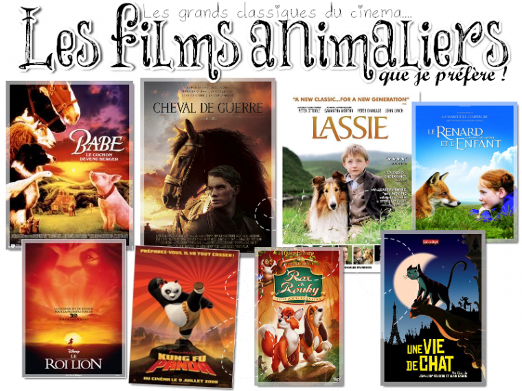 Mes films animaliers préférés