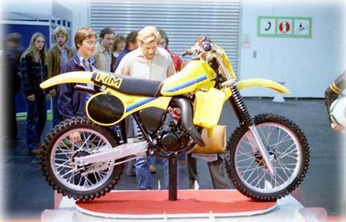 Quelques spécificités 125 RM-X 1981 suite