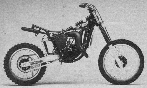 SUZUKI 125 RM-D 1983
