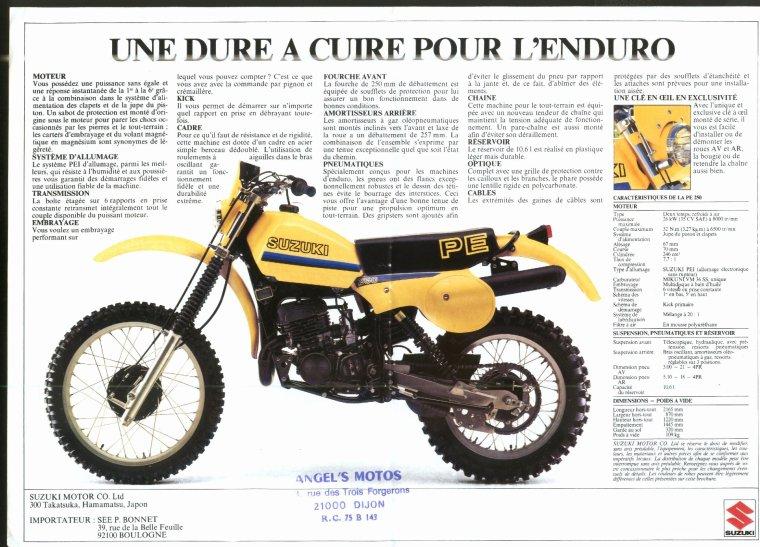 "PE 250 1980 MODEL """" T """""