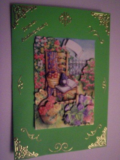 carte anniversaire fleurs n°6 (DISPONIBLE)