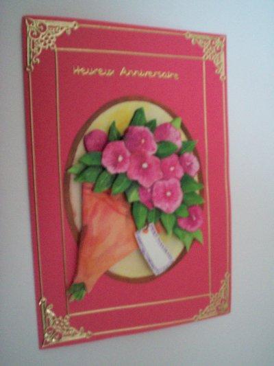 carte anniversaire fleurs n°22 (DISPONIBLE)