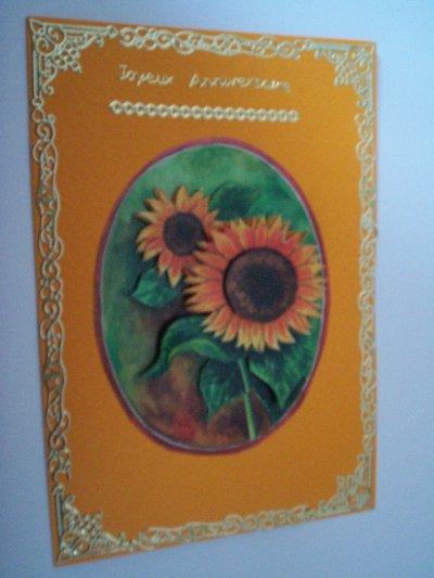 carte anniversaire fleurs n°30 ( DISPONIBLE)