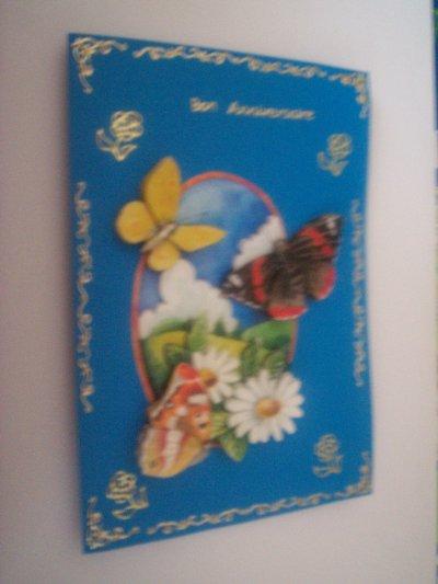 carte anniversaire papillon n°2 (DISPONIBLE)
