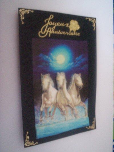 carte anniversaire chevaux n°2 (DISPONIBLE)