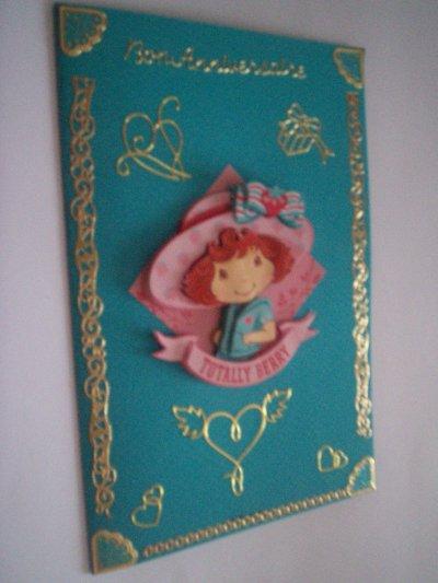 carte anniversaire charlotte aux fraises n° 14 (DISPONIBLE)