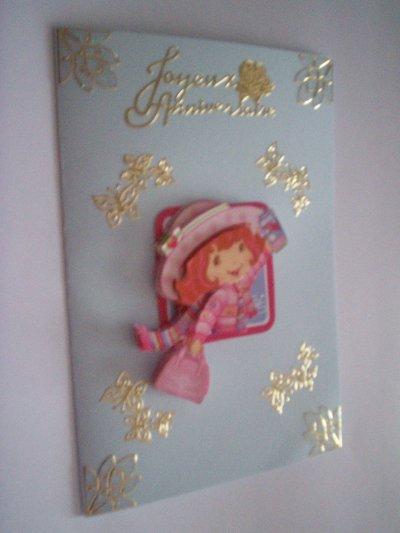 carte anniversaire charlotte aux fraises n°15 (DISPONIBLE)