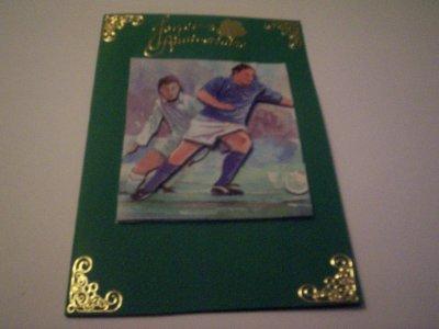 carte anniversaire foot n°4 (DISPONIBLE)