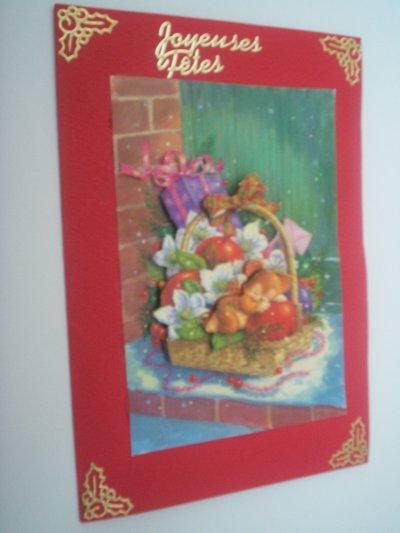 cartes joyeuses fetes n°2 (VENDU)