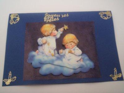 cartes joyeuses fetes n°5 (VENDU)