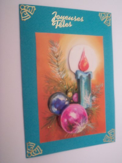 cartes joyeuses fetes n°6 ( DISPONIBLE)