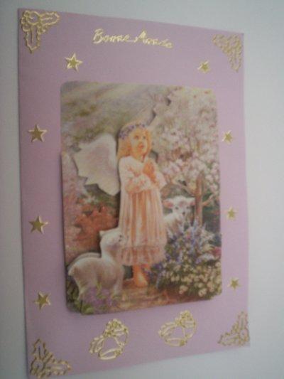 carte bonne annee n°6 (VENDU)