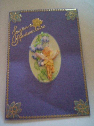 carte anniversaire fée n°12 (DISPONIBLE)