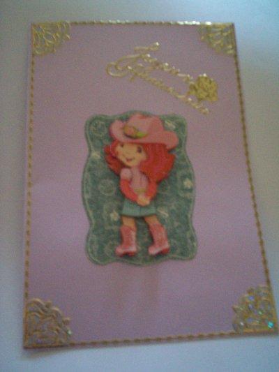 carte anniversaire charlotte aux fraises n°20 (DISPONIBLE)
