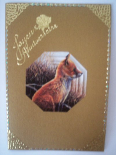 carte anniversaire renard n°3 (DISPONIBLE)