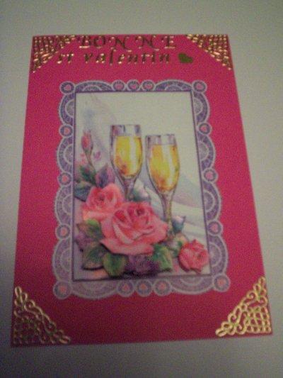 carte bonne st valentin n°2(VENDU)