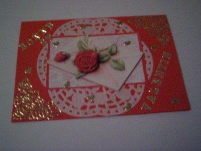 carte bonne st valentin n°3(VENDU)