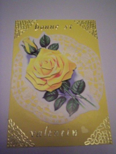 carte bonne st valentin n°5(VENDU)