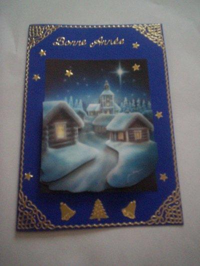 carte bonne annee n° 24 (VENDU)