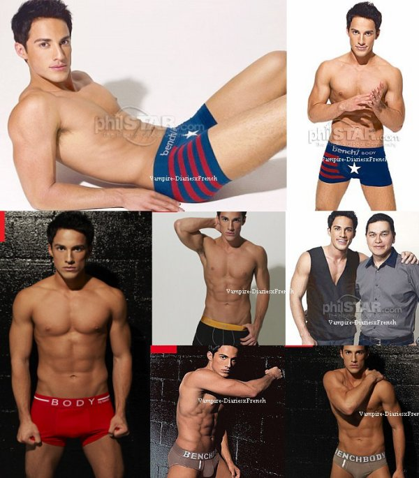 Novembre 2011 : michael pose pour bench body :D